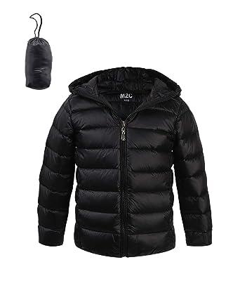 fbee80ac5 M2C Kids Boys Girls Hooded Packable Down Puffer Jacket Lightweight ...