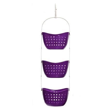 Charmant Hooshion® Plastic 3 Tier Shower Caddy Bath Rack Hanging Over Basket Tidy  Shower Organiser (
