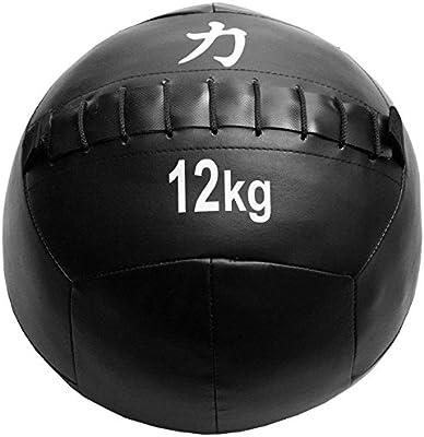 Strength Shop Balones Medicinales/Wall Balls, Negro, 12 kg: Amazon ...