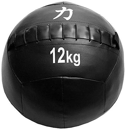 Strengthshop Balones Medicinales/Wall Balls, Negro, 15 kg: Amazon ...