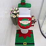 Snowman Santa Toilet Seat Cove