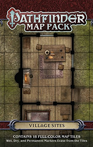 Map Pack - Village Sites SW Paizo Publishing PZO4069