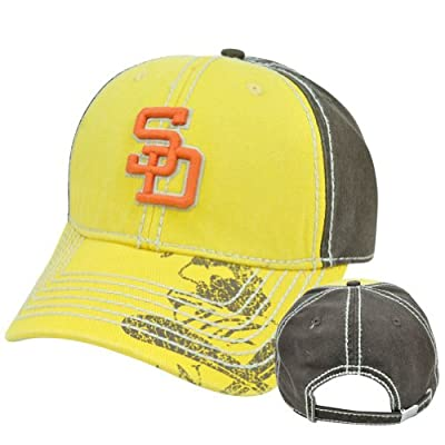 San Diego Padres Throwback Colors hat cap MLB Licensed One Size Fits All