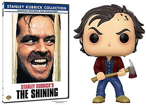 JACK TORRANCE Ultimate Bundle: Stanley Kubrick's: The Shining DVD & Pop # 456 Redrum Bloody Jack Torrance Figure