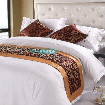 BURS Hotel toalla de la cama / bandera de la tabla / hotel de la estrella