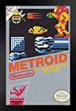 Pyramid America Metroid Nintendo NES Video Gaming Framed Poster 14x20 inch