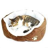Comfortable Pets Dog Cat Puppy Kitten Soft Fleece Bed Pet House Nest Pad Mat Coffee, My Pet Supplies