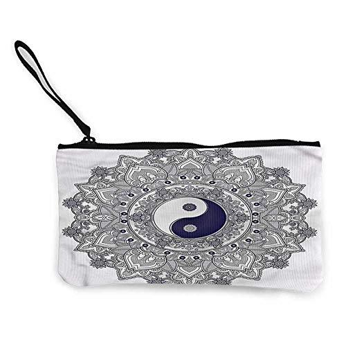 (Women's Coin Purses Ying Yang,Elaborated Mystic Mandala W8.5