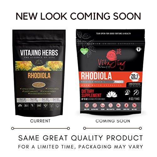 Organic Rhodiola Extract Powder 4oz 114gm product image