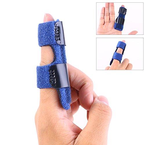 ROSENICE Finger Splint Trigger Finger Splint Mallet Finger Splint Finger Knuckle Immobilization Finger Fractures Pain Relief