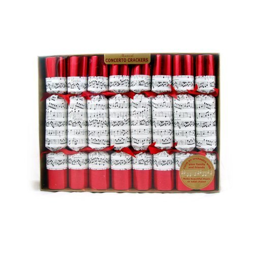 Musical Concerto Crackers - The Deluxe Musical Christmas Cracker by PinkCatShop
