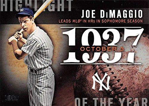 2015 Topps Update Highlight of the Year #H-64 Joe DiMaggio Yankees Baseball Card NM-MT ()