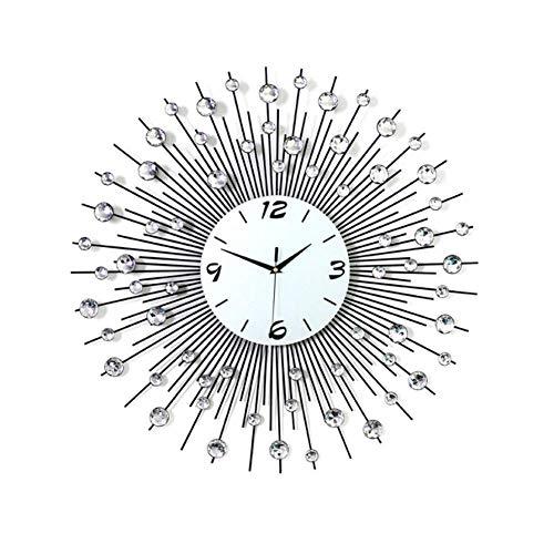 YLCJ 3D Wall Clocks 64 Pieces Cloisonne Decorative Diamonds Clock Diameter 65cm.