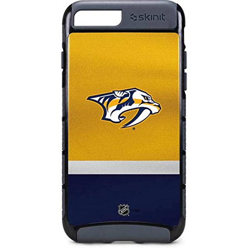 low cost acb3b 4ae07 Skinit NHL Nashville Predators iPhone 8 Plus Cargo Case - Nashville  Predators Alternate Jersey Design - Durable Double Layer Phone Cover
