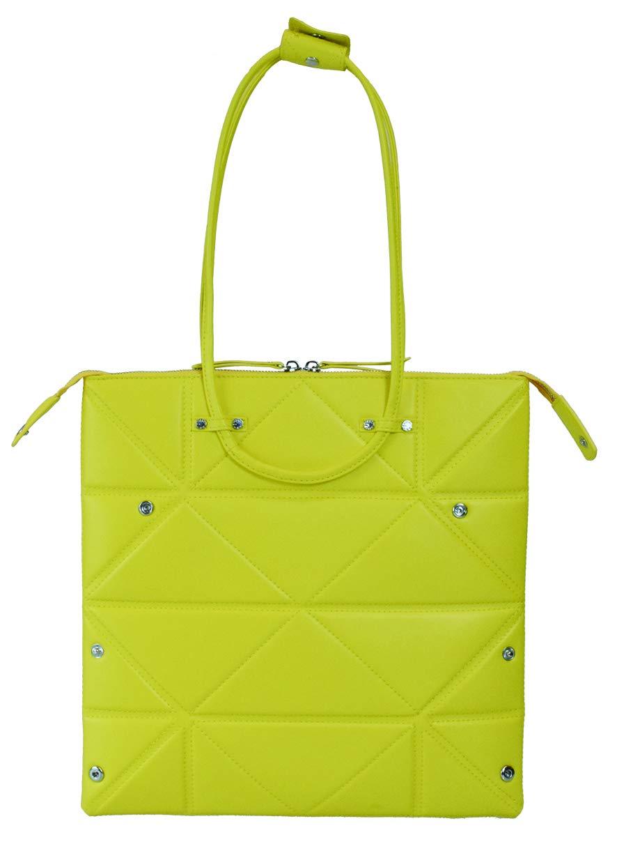 Hanaa-fu Womens Handbag Aries Origami Transforming Bag Yellow by Hanaa-fu