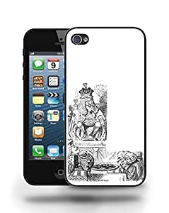 Vintage Alice in Wonderland Sketch Phone Case Cover Designs for iPhone 5 wangjiang maoyi