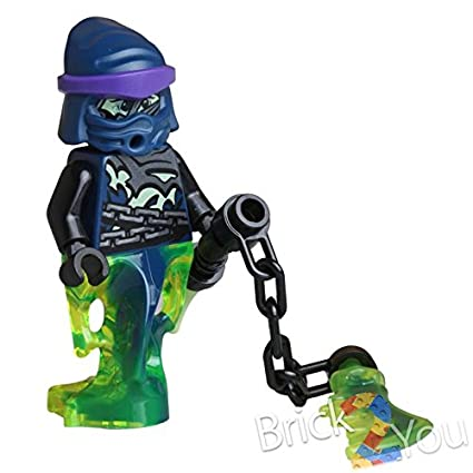 Amazon.com: LEGO Ninjago Wrayth Ghost Ninja Warrior Minifigure: Toys ...
