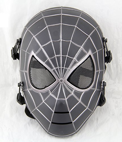 Gmask Spiderman Airsoft Full Face Mesh Paintball Masks NEW Replica (Spiderman Mask Replica)