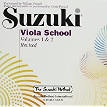 Alfred Suzuki Viola School CD, Volume 1 & 2 (Audio CD)