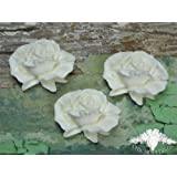 Chic Mouldings Moulure décorative style shabby chic pour meubles Roses Grand format