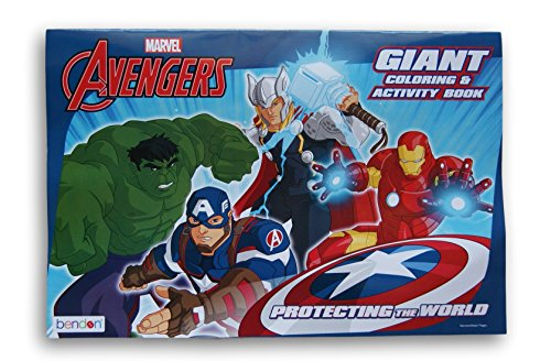 Marvels Avengers Protecting Coloring Activity