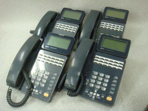 GX-(18)STEL-(2)(K) 黒 4台セット NTT GXスタービジネスフォン B00DYFIBW2
