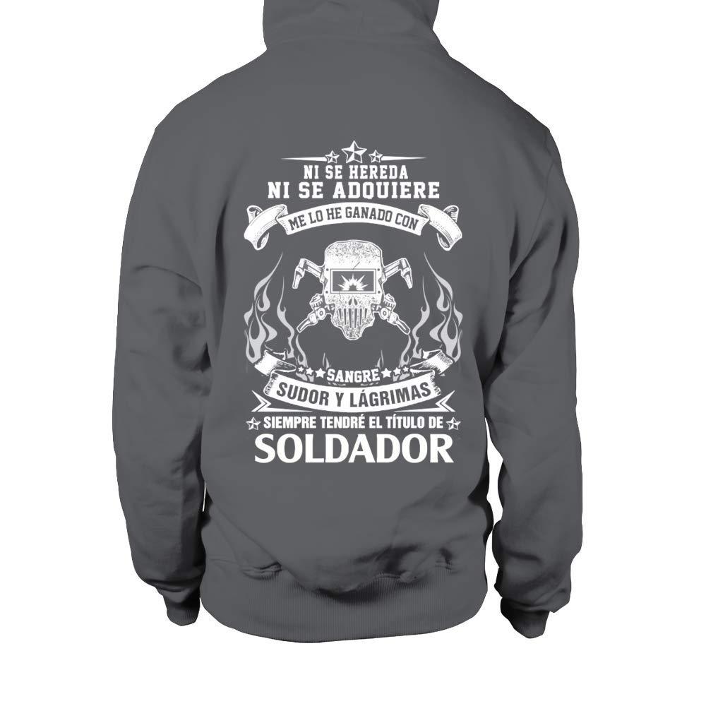TEEZILY Soldador Edición Limitada Sudadera con Capucha Unisex: Amazon.es: Ropa y accesorios