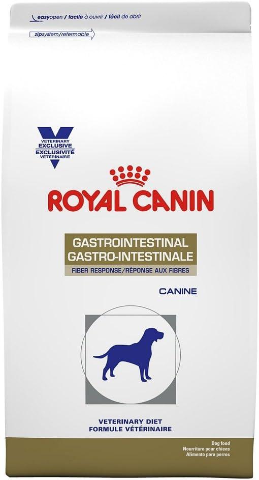 Royal Canin Veterinary Diet Canine Gastrointestinal Fiber Response Dry Dog Food, 17.6 lb
