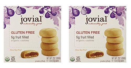 Jovial Foods Organic Cookies, Fig Fruit Filled,
