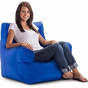 Amazon Com Big Joe Smartmax Duo Bean Bag Chair Stretch