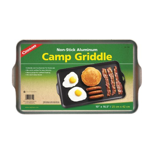 Coghlan's Two Burner Non-Stick Camp Griddle, 16.5 x 10-Inches by Coghlan's (Image #1)