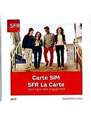 SIM-kaart sfr prepaide; prepaid-kaart sfrr met 5 euro credit