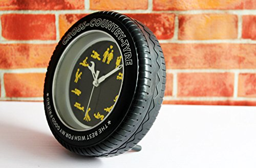 Acrylic Wall Clock Modern Wheel Tire Style For Bedroom Home Decoration (Sex Position)