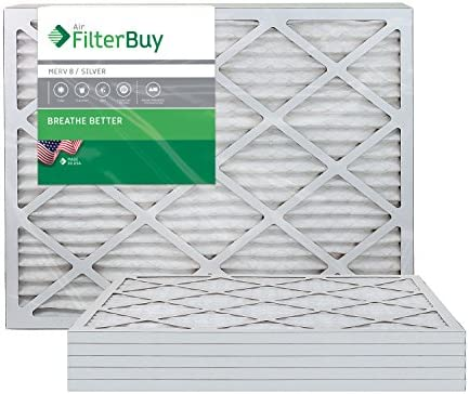 FilterBuy 20x25x1 Pleated Furnace Filters product image