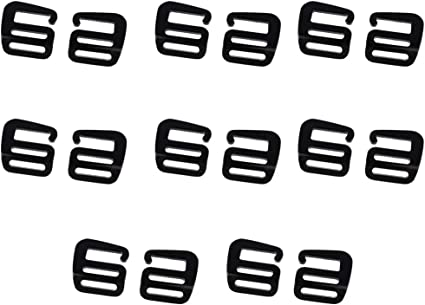 8pcs G Hook Webbing Buckle Backpack Accessories Quick Release Buckle 25mm