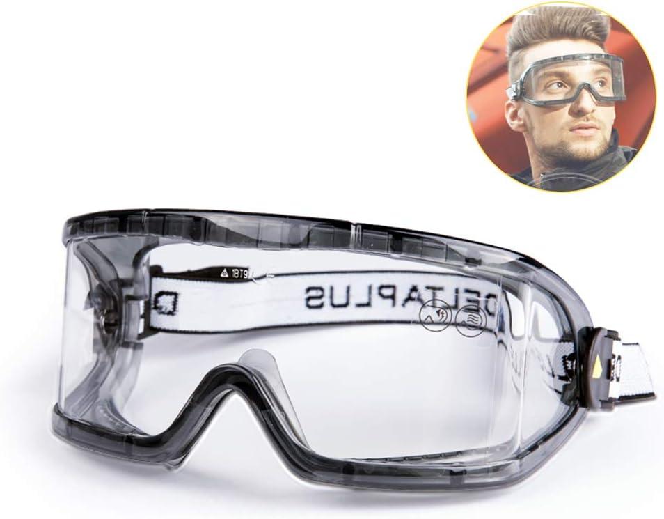 WJH9 Gafas al Aire Libre contra la Niebla Hombres Mujeres Bicicletas, de Protección de Viento y la Arena de Laboratorio Gafas de Seguridad higiene para Evitar Que Las Gotas de Gafas Niebla