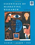 Essentials of Marketing Research, 2nd Edition with SPSS 17. 0, Kumar, V. and Aaker, David A., 0470506326