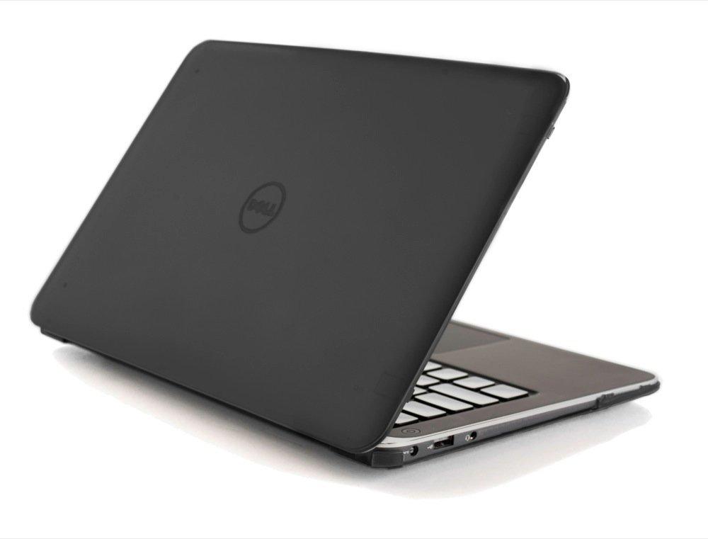 Black iPearl mCover Hard Shell Case for 13.3'' Dell XPS 13 9343/9350 Model(Released After Jan. 2015, not Fitting Older L321X / L322X / 9333 Model Released Before Jan. 2015) Ultrabook Laptop - Black