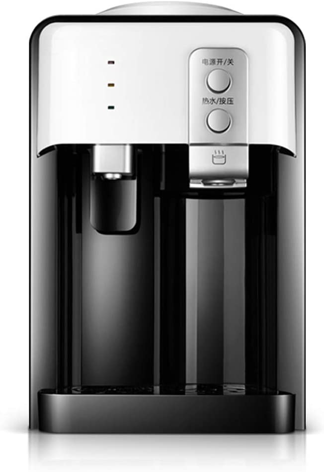 S-AIM Dispensador de Enfriador de compresor de encimera - Dispensador de Agua sin Botella, Agua Caliente y fría, Talla única, Negro