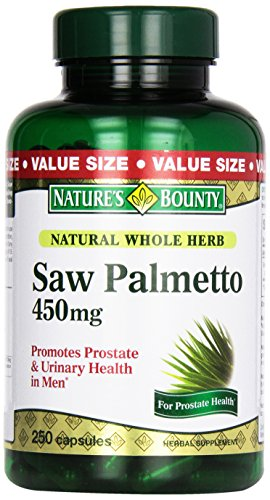 Natures Bounty Palmetto Natural Capsules product image
