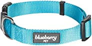 Blueberry Pet Essentials 22 Colors Classic Solid Color Collection - Regular Collars, Martingale Collars, Personalized Collar