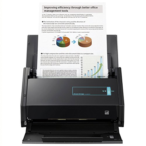 Fujitsu ScanSnap iX500 Color Duplex Desk Scanner for Mac and PC (Renewed) (Fujitsu Scansnap Ix500 Desktop Scanner For Pc)