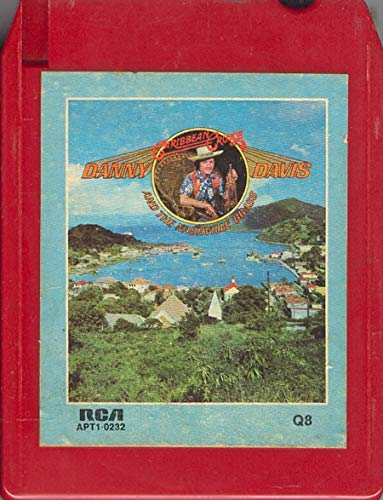 (Anticuria Danny Davis & The Nashville Brass: Caribbean Cruise Quad 8 Track Tape -3256 )