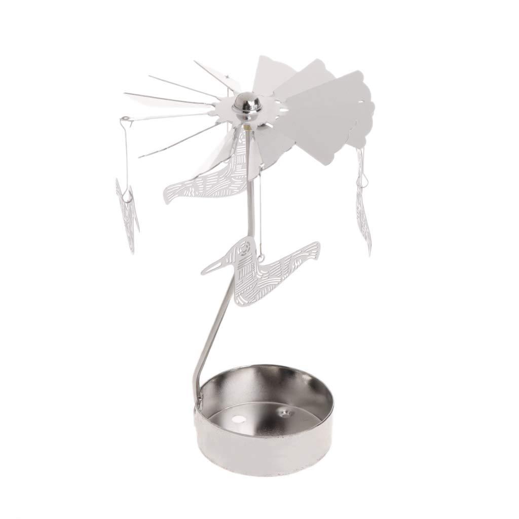 Medium cicianco Photophore en m/étal Rotatif pour Bougie Chauffe-Plat Motif carrousel Geben Sie 5 EIN