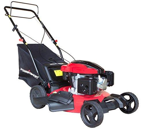 Mulching Push Mowers - PowerSmart DB8621S Gas Self Propelled Mower