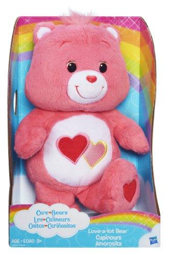 [Care Bears Love-a-lot Bear 12 Inch Plush] (Care Bear Plush)