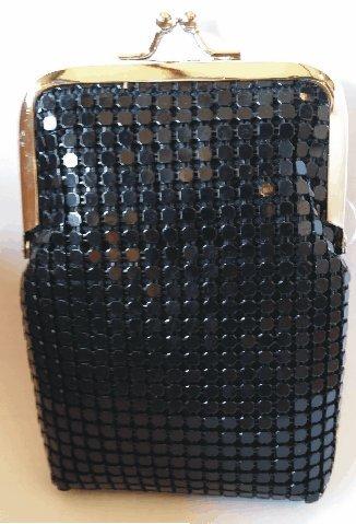 Black Luxury Sequin Mesh Cigarette