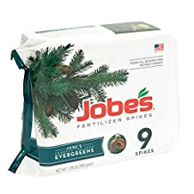Jobe's 9-Count Evergreen Trees and Shrubs Fertilizer Spikes