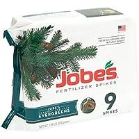 Jobe's Evergreen Fertilizer Spikes 11-3-4 Time Release...