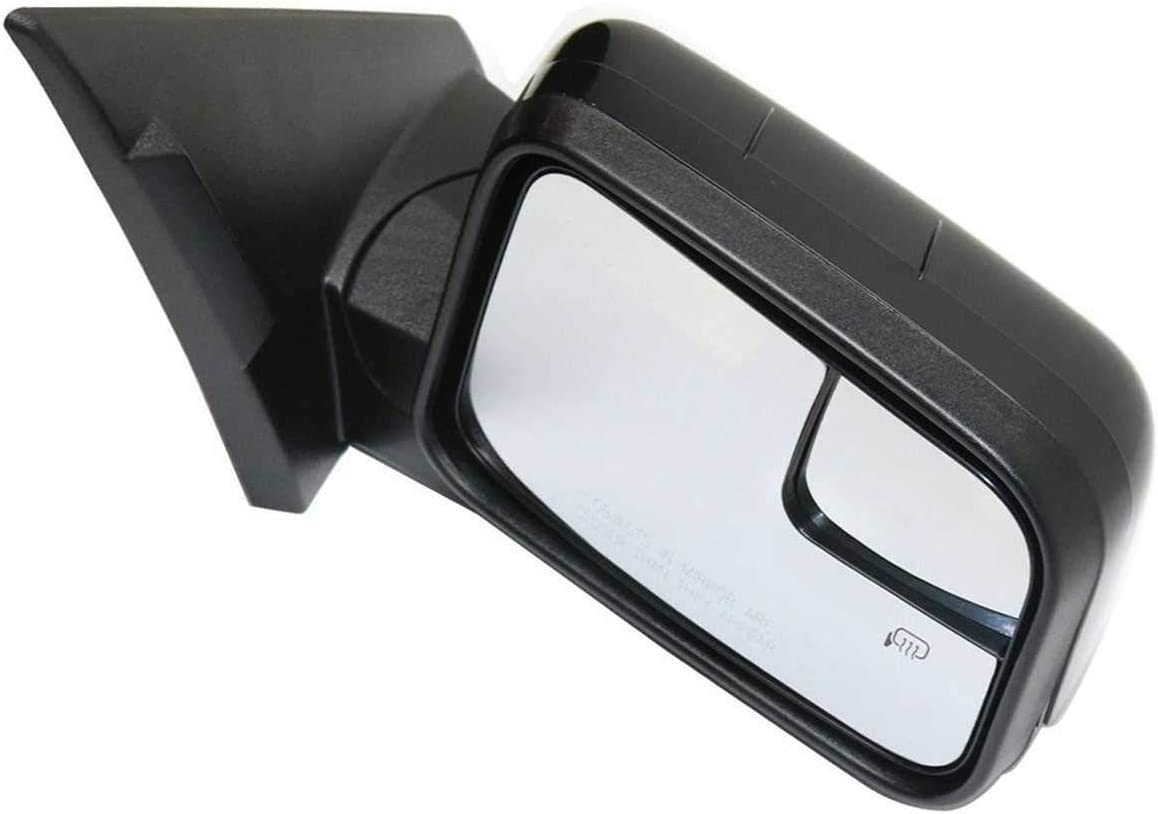 AutoShack KAPFO1321370 Right Passenger Power Paint to Match Smooth Heated Manual Folding Side View Mirrors Replacement for 2009-2011 Ford Edge 3.5L 3.7L